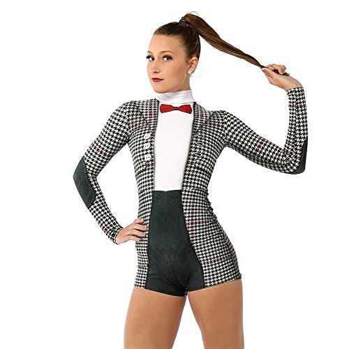 Alexandra Collection Womens Perfectly Suited Performance Dance Costume (Aerial Dance Costumes)