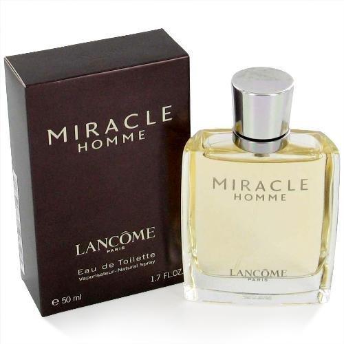 - Miracle by Lancome for Men. 1.7 Oz Eau De Toilette Spray