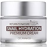 Cheap Made in Korea – Premium Snail Cream by Celranico® – 50ML – Lightly Scented/Lightweight – Hydrates/Moisturizes Dry Skin – Day & Night Use – Spa Quality – All Skin Types – Paraben-Free – Natural-Based