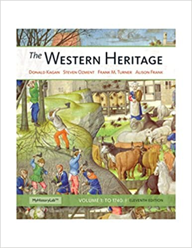 amazon com the western heritage volume a 11th edition