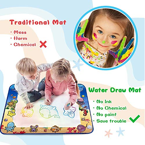 CPSYUB AquaDoodle Mat,Large Size 40×28 inches Kids Toys ...