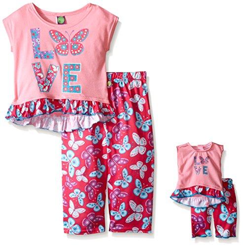 Dollie Me Girls Butterfly Sleepwear