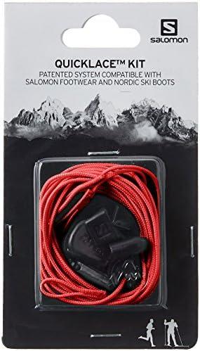 シューズ用品 靴紐 Quicklace KIT (クイックレース キッド) Red 27.0cm