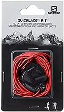 Salomon QUICKLACE KIT L32667400 Set de Cordones, Unisex, Rojo
