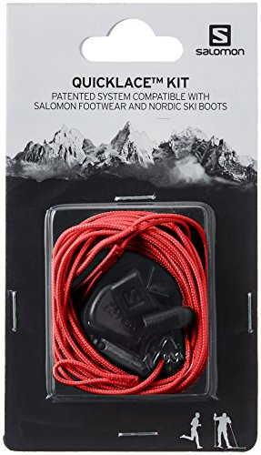 Salomon Quicklace-Kit rot
