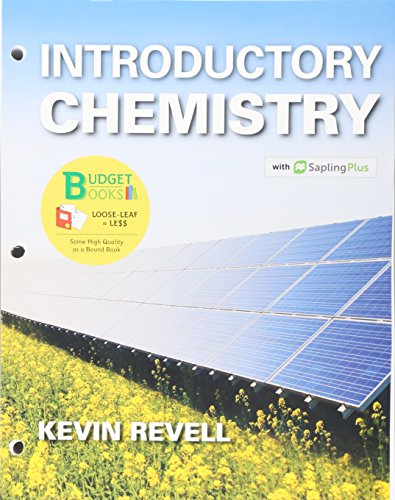 Loose-Leaf Version for Introductory Chemistry & SaplingPlus for Introductory Chemistry (Twelve Months Access)