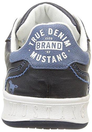 Mustang 4098305 - Zapatillas Hombre, Color Azul (820 Navy), Talla 42