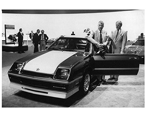 Dodge Shelby 1988 (1987 1988 1989 Dodge Shelby CSX Carroll Shelby Factory Photo)