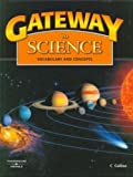 Gateway to Science: Student Book, Hardcover: Vocabulary and Concepts