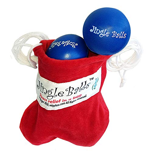 Hand Therapy Ball Bag Stress Relief for Adults with Fun Theme Helps Relieve Tension | Therapeutic Just Crush and Pull and Stretch and Feel Good. -