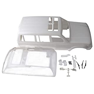 Crawler Land Curiser LC80 White Colours Hard Body per Crawler Rc Delicacydex B0AI0ABI