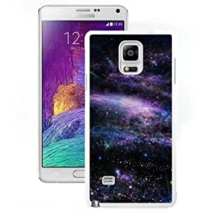 Hot Sale And Popular Samsung Galaxy Note 4 Case Designed With Fantasy Art Star Shiny Nebula Outer Space White Samsung Note 4 Phone Case