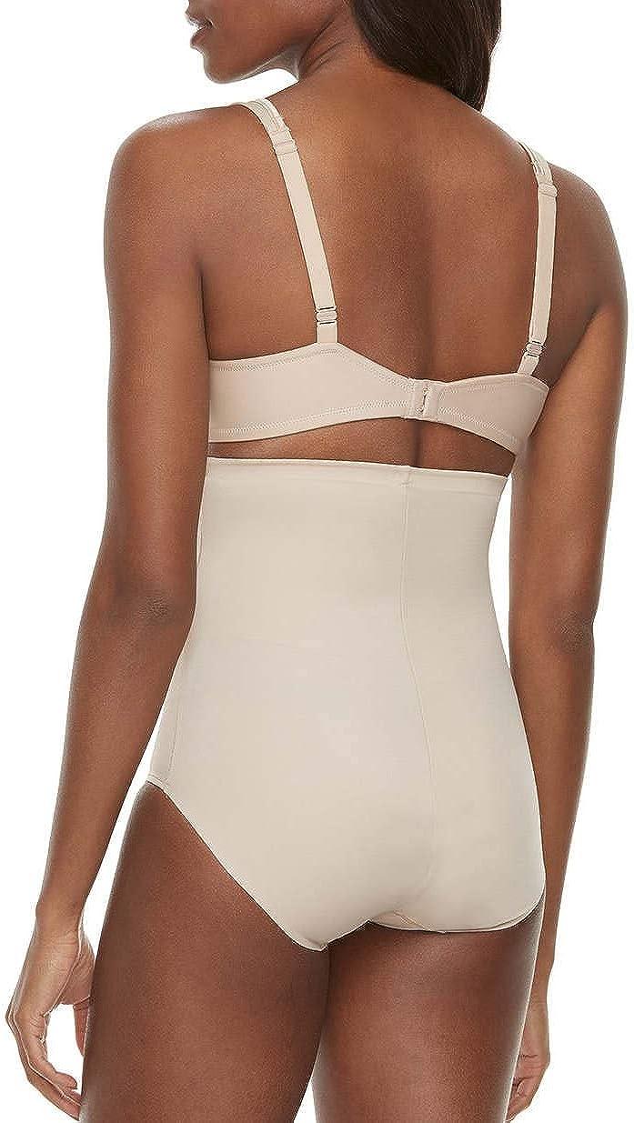 Naomi /& Nicole Womens Firm Shapewear Knicker Control Pants Hi Waist with No Ride