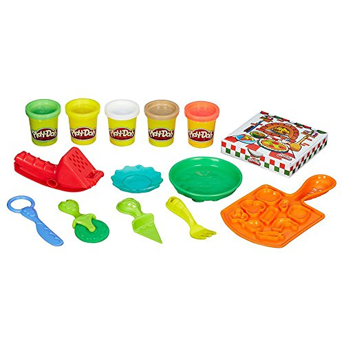 Play-Doh B1856 Kitchen Creations Pizza Party, Multicolor