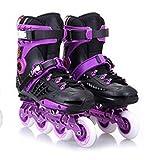 Inline Skates For Men Unisex Racing PP Material Purple , 36