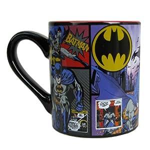 Batman Comic Panel 14oz taza de cerámica