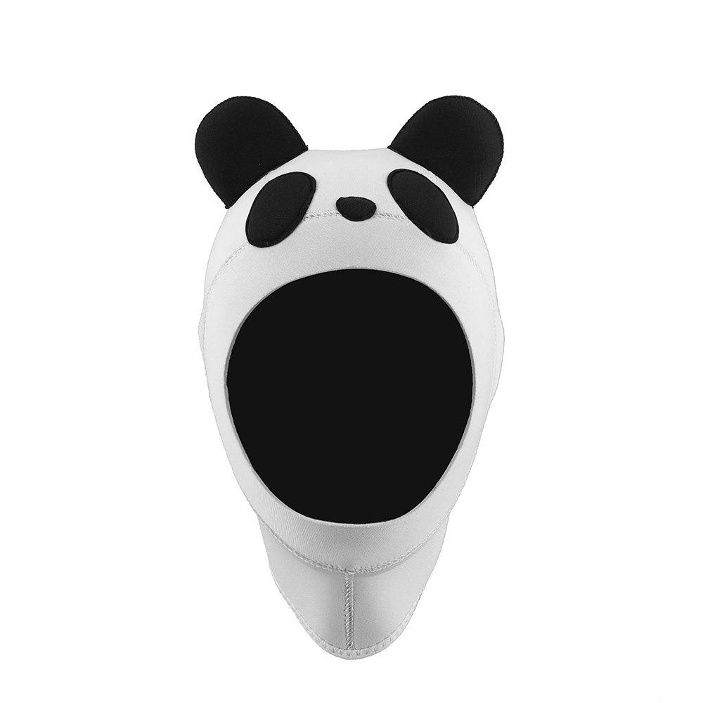 Kinno Scuba Wetsuit Hood, Panda Premium Neoprene 3mm Vented Scuba Diving Hoods for Scuba Diving, snorkeling, spearfishing (Large) by Kinno Scuba
