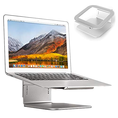 - Desire2 Laptop Stand, View Adjustable Laptop Riser Notebook Stand [5 Heights Adjustment ] Aluminum Ventilated Stand Holder for Desk Mac MacBook 11'' 12