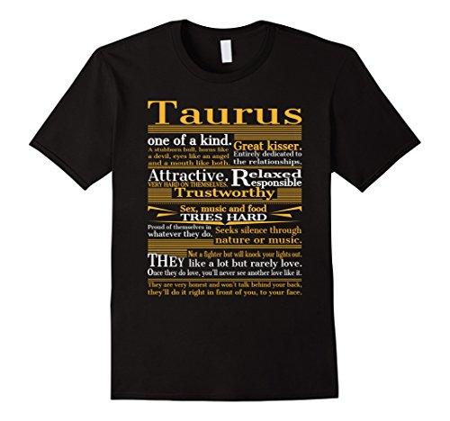 mens-great-taurus-t-shirt-xl-black