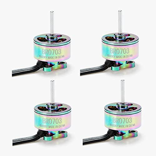 B0754MD49Z Quickbuying 4X Racerstar 0703 BR0703 SE 15000KV 1-2S FPV Racing Brushless Motor 51tOhLt2BSLL.