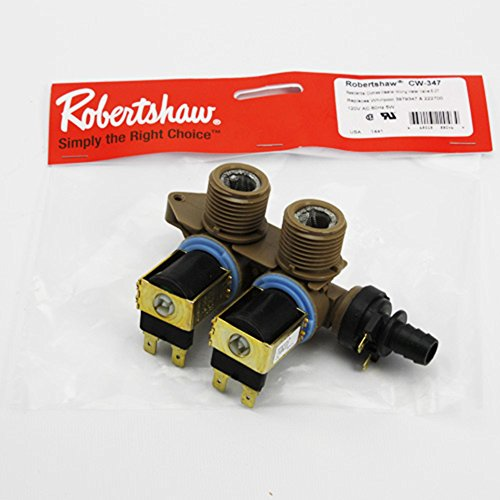 Direct OEM Replacement For 3979347 222700 Washing Machine Water Inlet Valve by Robertshaw