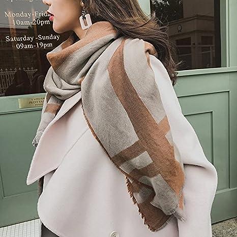 design senza tempo dbd4b c58de Disgsalgm sciarpa/scialle/scialle lungo scialli cotone lino ...