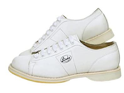 Amazon.com | Linds Classic Men's Bowling Shoe (20 3E (US), White ...