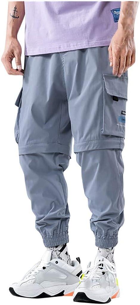 Sylar Pantalones De Trabajo para Hombre Pantalones Desmontable ...