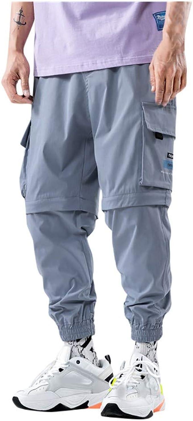 NUSGEAR VPASS Pantalones para Hombre Moda Extraíble Trabajo ...