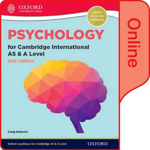Psychology for Cambridge International AS and A Level 2nd Edition: Online Student Book (CIE A Level)