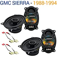GMC Sierra 1988-1994 Factory Speaker Replacement Harmony (2) R46 Package New