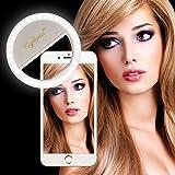 RC Selfie Ring Light Photo Lighting for iPhone 6Plus/6s/6/5S/5/4S/4/Samsung Galaxy S6 Edge/S6/S5/S4/S3, Galaxy Note 5/4/3/2, iPhone Samsung Galaxy HTC HuaWei P9 iPad MacBook