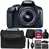 Canon EOS Rebel T6i DSLR Camera with 18-55mm Lens and Accessory Bundle