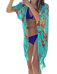 Simplicity Women's Perfect Swimwear Cover For the Beach and Pool