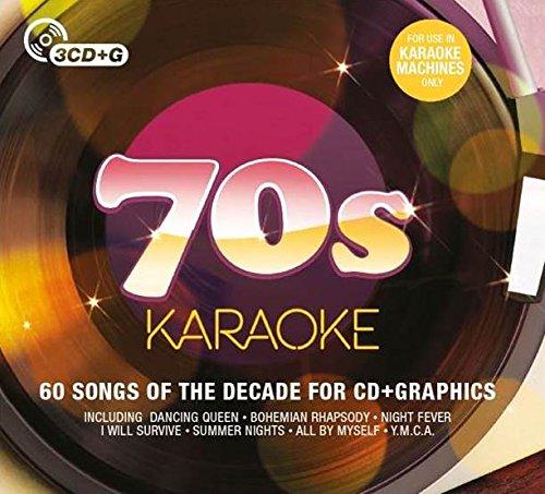 70S Karaoke (3Cd+G) by CRIMSON