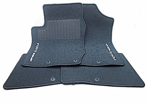 OEM 2010-2013 Kia Forte Koup Charcoal Carpet Floor Mats 4 Fo