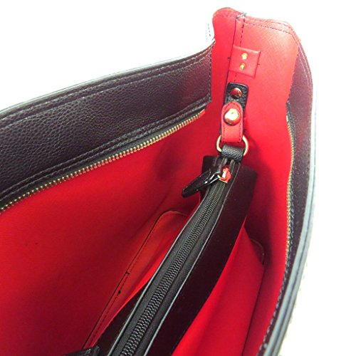 Bolsa de diseñador 'Ted Lapidus'negro - 32x26.5x14 cm.