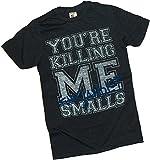 'Your Killing Me Smalls' Distressed Athletic -- The Sandlot Adult T-Shirt, Medium