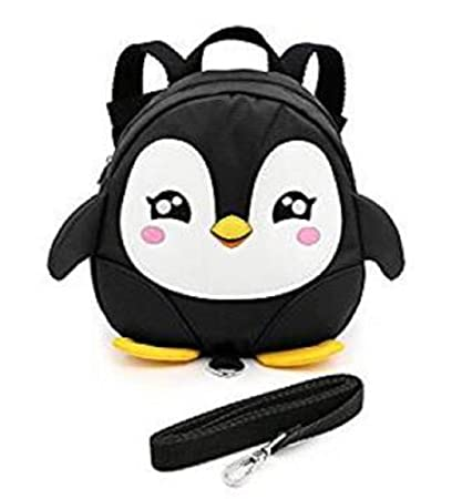 Wendin Baby Toddler Walking Safety Backpack Little Kid Boys Girls Anti-lost  Travel Bag Harness Reins Cute Cartoon Penguin Mini Backpacks with Safety  Leash ... 467f9e1b80