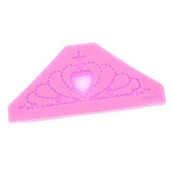 monkeyjack cocina herramientas de corona de silicona moldes de pastel fondant decoración molde: Amazon.es: Hogar