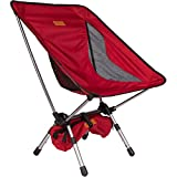 Trekology YIZI GO Portable Camping Chair with Adjustable Height - Compact Ultralight Folding...