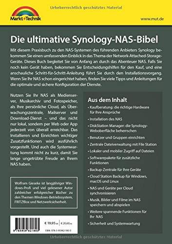 Die ultimative Synology NAS Bibel - Das Praxisbuch - mit
