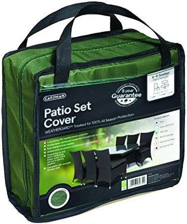 Rectangular Green Gardman 34315 Protective Patio Set Cover Medium
