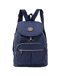Backpack,ZYSUN Fashion Travel School Backpacks for College Girls Womens,blue