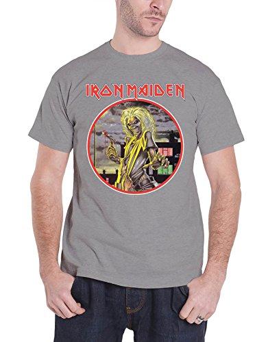 Rockoff Trade Men's Killers Circle T-Shirt XX-Large Grey