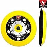 5'' Velcro Face Sanding Pad Air Vacuum Sander Grinder Tools For Grinding Sanding