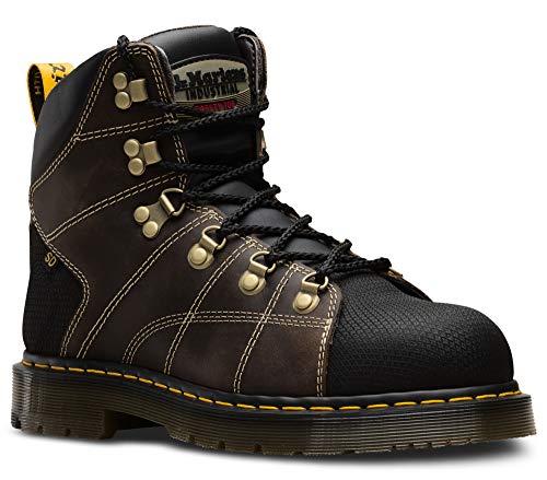 Dr. Martens - Women's Maple Zip Light Industry Boots, Black, 7 US