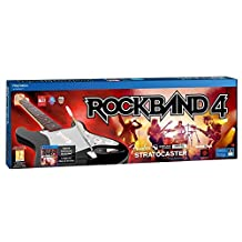 MadCatz Music Set ROCK BAND 4 wireless fender stratocaster (game + guitar) PS4