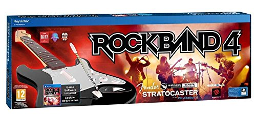 Mad Catz, Saitek, Tritton MadCatz Music Set ROCK BAND 4 wireless fender stratocaster (game + guitar) PS4