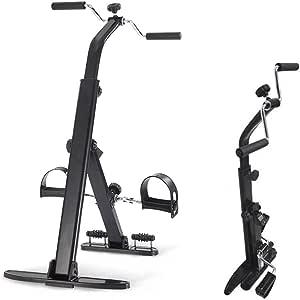 DSYYF Bicicleta de Ejercicio Ejercitador de Pedal para ejercitador de Brazos y piernas, Equipo de Ejercicios portátil doblado para Ancianos - Bicicleta de Ejercicio de Pedal: Amazon.es: Deportes y aire libre